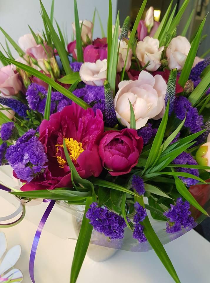 bloemen afscheid